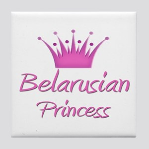 Belarusian Princess Tile Coaster